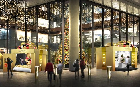 イベントが盛りだくさん! 「モエ・エ・シャンドン」のクリスマスマルシェ@丸の内へGO