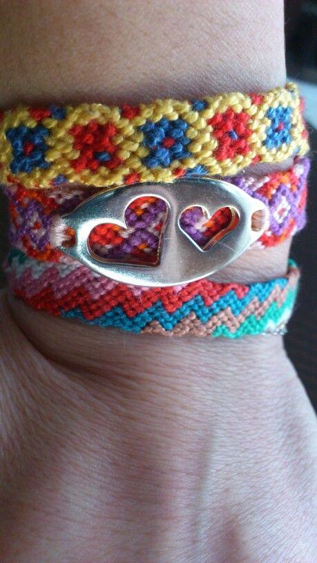My new friendship bracelets