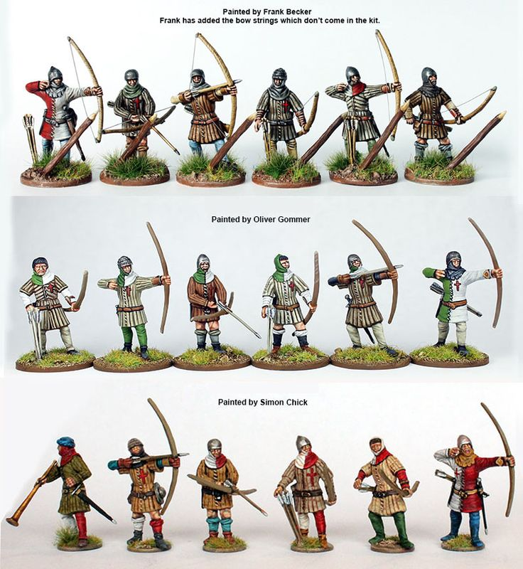 AO 40 English Army 1415-1429 (36 figures), Perry Miniatures