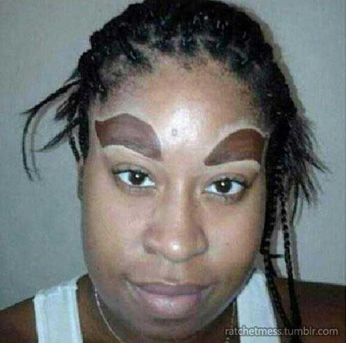 Girls with Sharpie Eyebrows | 21 Girls Who Don't Know What Eyebrows Are Supposed To Look Like ...