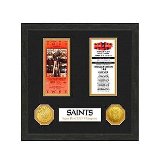 NFL® New Orleans Saints Super Bowl Championship Ticket Collection