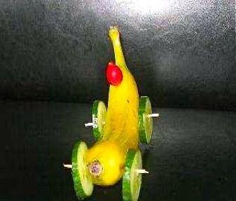 healthy snack  gezonde traktatie banaan