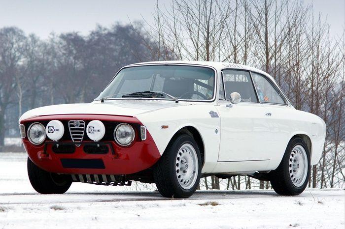 Alfa Romeo Giulia1600 Sprint GT Rally