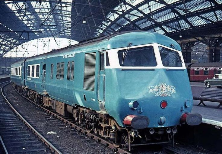 Midland Pullman in Liverpool