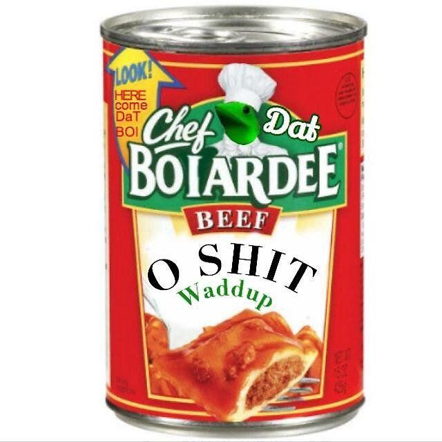 Here Come Dat Boi - Chef Boyardee | Sticker