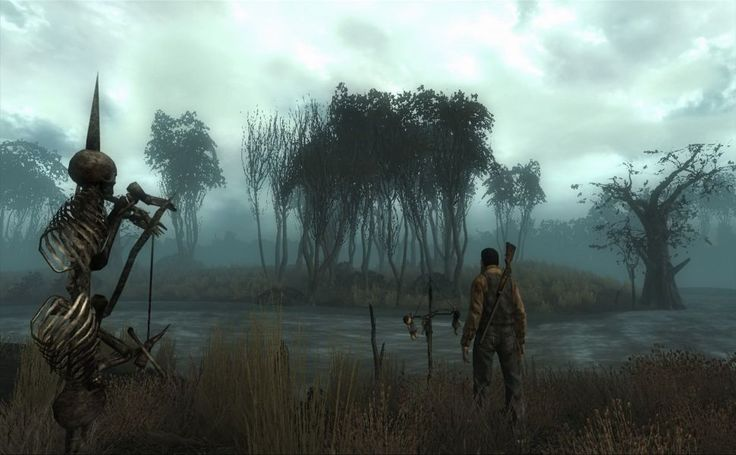 Fallout 3 Point Lookout HD Wallpaper
