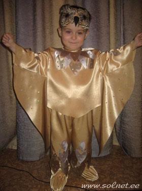 Новогодний костюм и маска фото сова филин