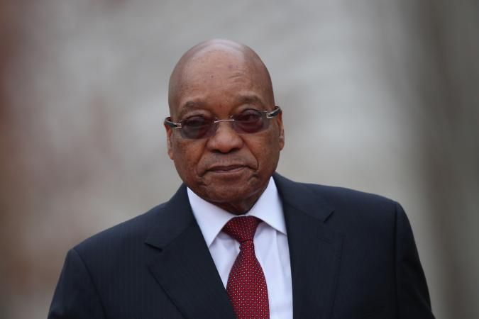 Jacob Zuma Leaves May Day Rally After Being Booed