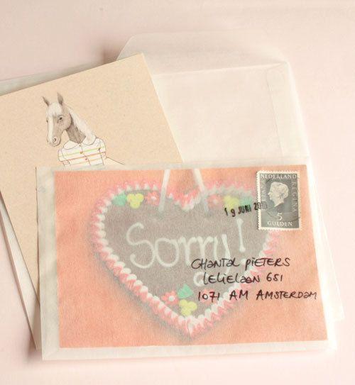 Set van 10 pergamijn enveloppen standaardformaat, type loonzak van @omstebeurt | Een Nieuw Avontuur | Een Nieuw Avontuur via