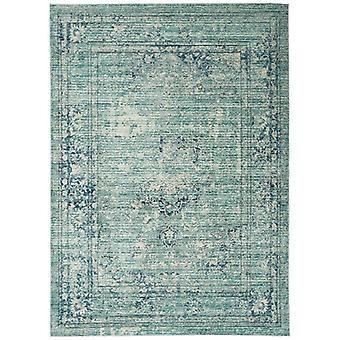 Verve VE10 blauwe rechthoek tapijten Funky tapijten