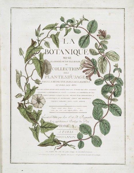 la botanique.