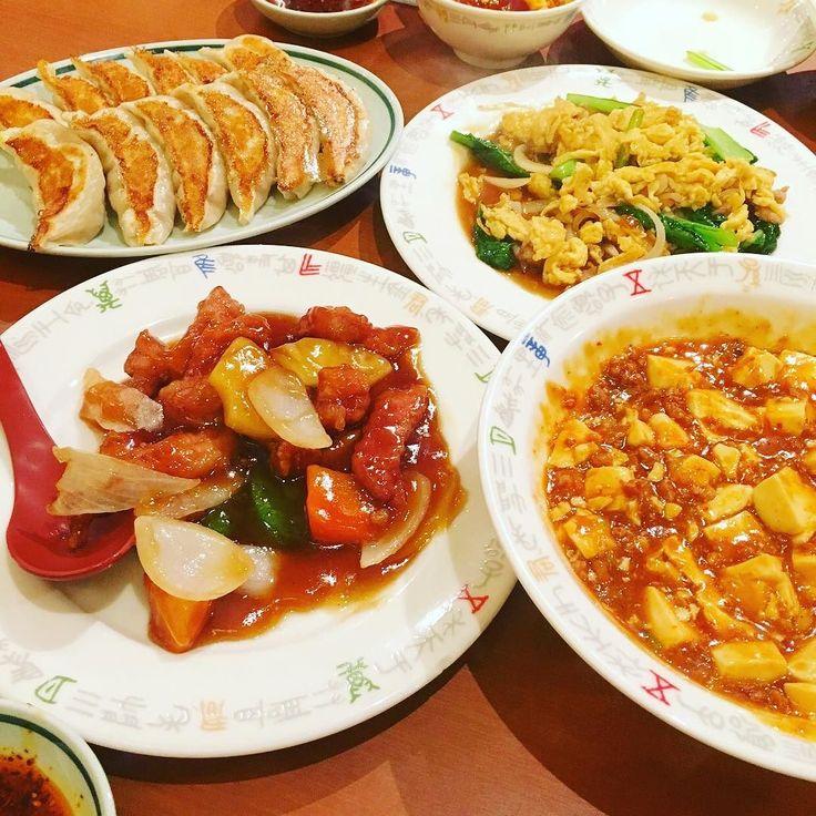 中華祭り開催 餃子がずっと食べたくて やっと食べられた 大阪でオススメ餃子のお店を 知っている方いませんか #いただきます #晩ごはん#中華料理 チャイニーズフード#food #foodporn #餃子#酢豚#麻婆豆腐 #外食 by 73hiroro