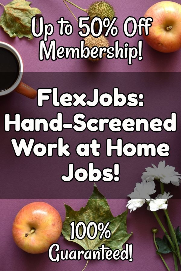 FlexJobs Sale: Up to 50% Off Membership for National Flex