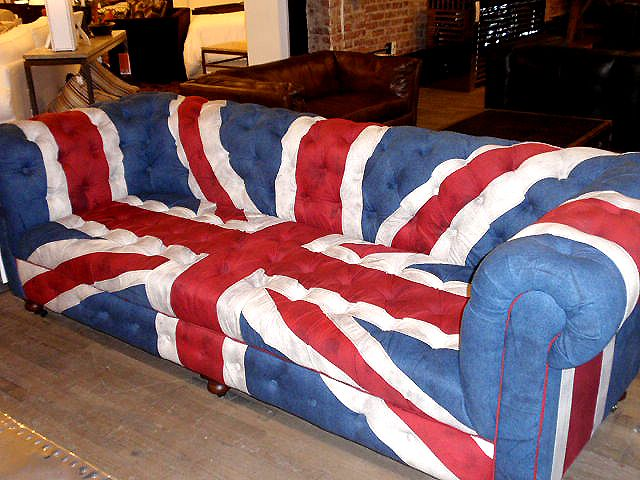 British themed home goods are a hot trend right now. | Style Trends |  Pinterest | British, Pottery barn pillows and Ottomans