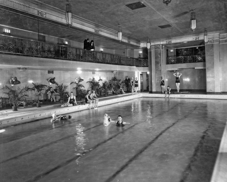 The art-deco pool opened in 1930