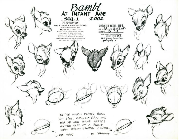 Living Lines Library: Bambi (1942)