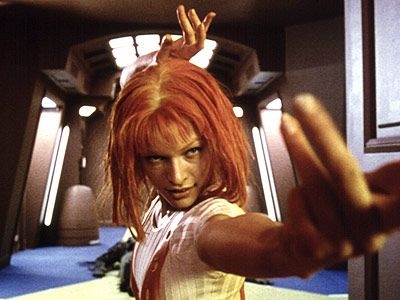 The Fifth Element- LeeLoo is just kickin some ass. NBD