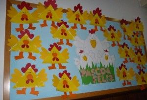 hen bulletin board