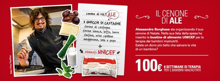 Timeline per facebook per sostenere la campagna malnutrizione unicef. www.unicef.it/donazioni