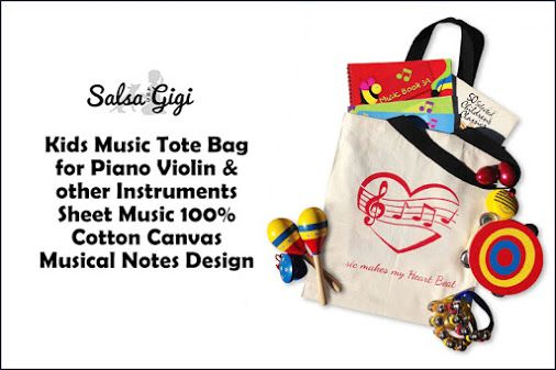 || Carry around your belongings harmoniously with the Musical Tote Bag is perfect for music lovers or otherwise and is great for everyday usage, shopping or travel || http://salsaandgigi.com/ || #musicbags #multipurposebags #kidsaccessorybag #salsaandgigi #musicalinstruments #kidslibrarybag #organizing #music #personalizedbag #musictotebag #totebag