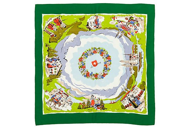 Swiss Tourist Scarf on OneKingsLane.com