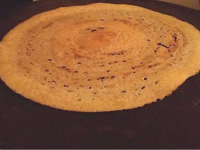 Crispy Flour dosa ( udad dal and rice flour dosa )