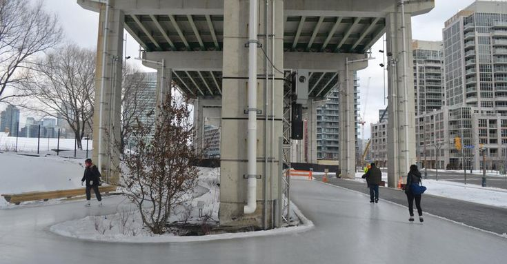 The Bentway only opened last January but hasn't had trouble drawing people to a previously overlooked spot beneath the Gardiner.