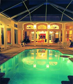 House With Indoor Courtyard Pool