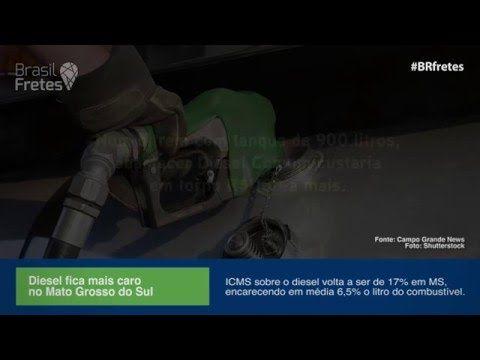 ICMS sobre diesel volta a subir no MS