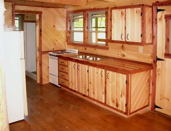 1000 images about log cabins kitchens on Pinterest
