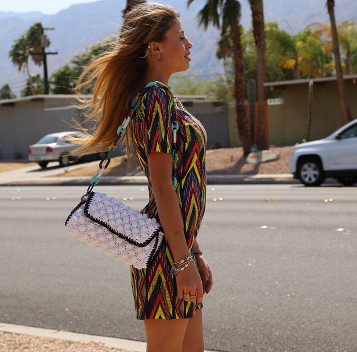 #MMissoni | Summer 15 | ZigZag Dress | Interpreted by Chiara Nasti
