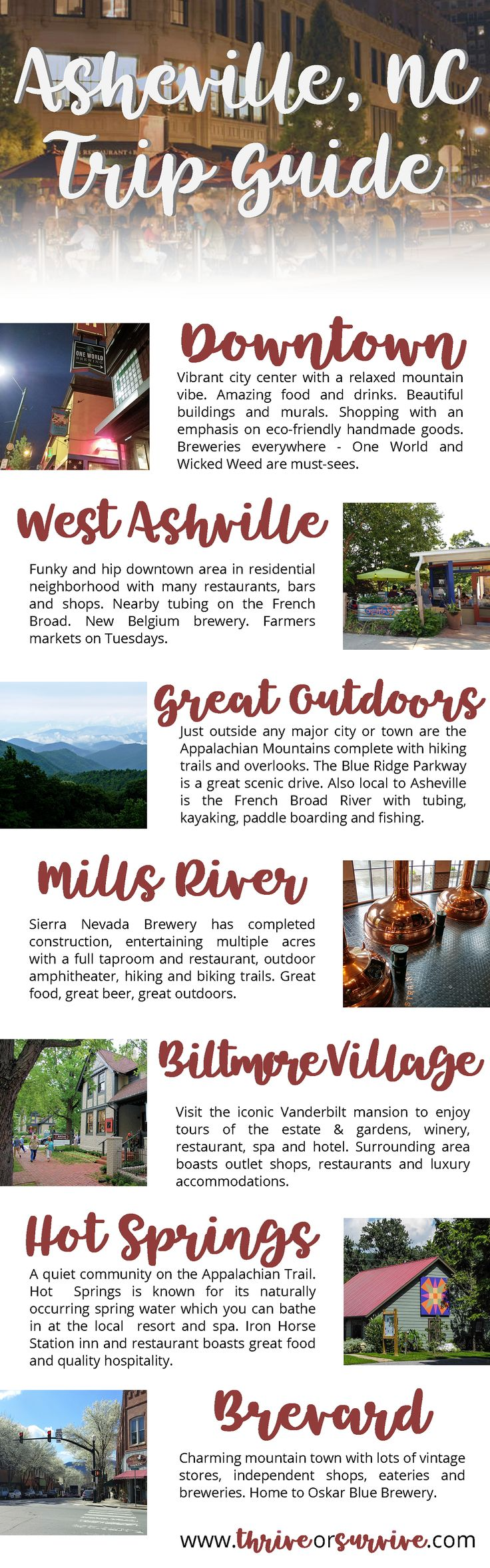 Asheville, North Carolina Trip Guide