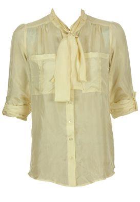 Massimo dutti silk shirt