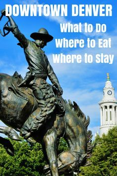Travel the World: Things to do in downtown Denver during a weekend getaway. Denver attractions, restaurants, hotel, and how to get around without a car. #Denver #Colorado #travel