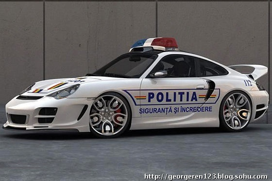 good luck outrunning this porsche... turbo.