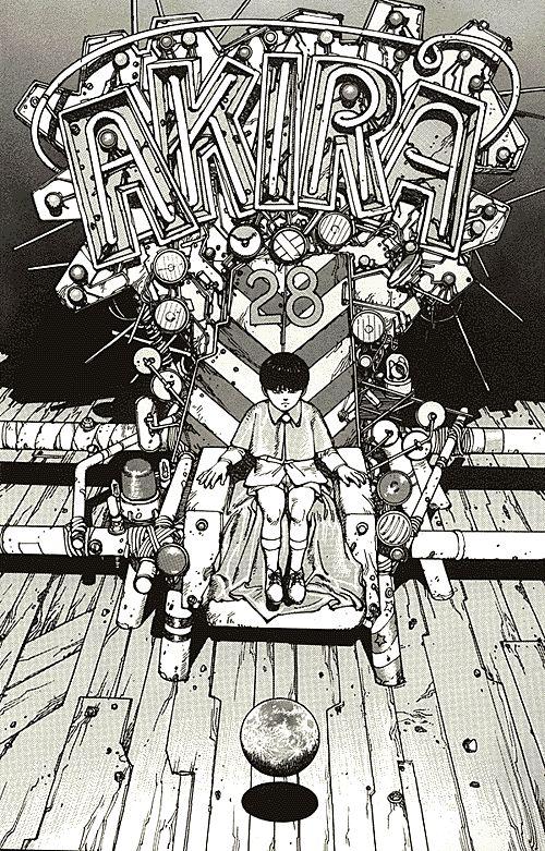 AKIRA - Katushiro Otomo ...my favourite comic <3