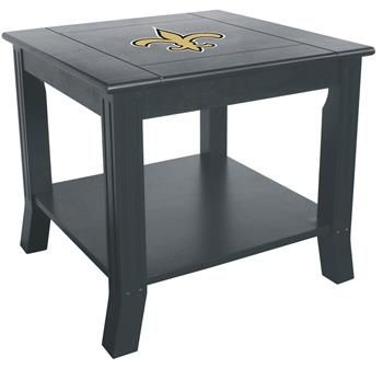 Use this Exclusive coupon code: PINFIVE to receive an additional 5% off the New Orleans Saints Side Table at SportsFansPlus.com