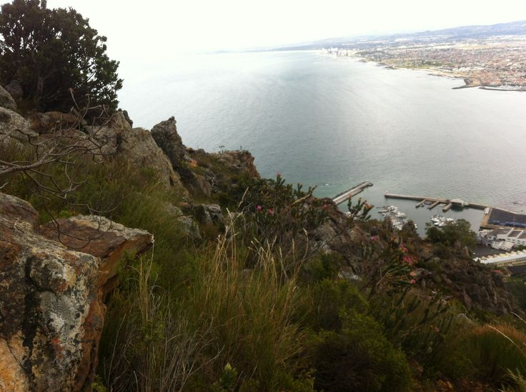 Gordons Bay from the mountain,,