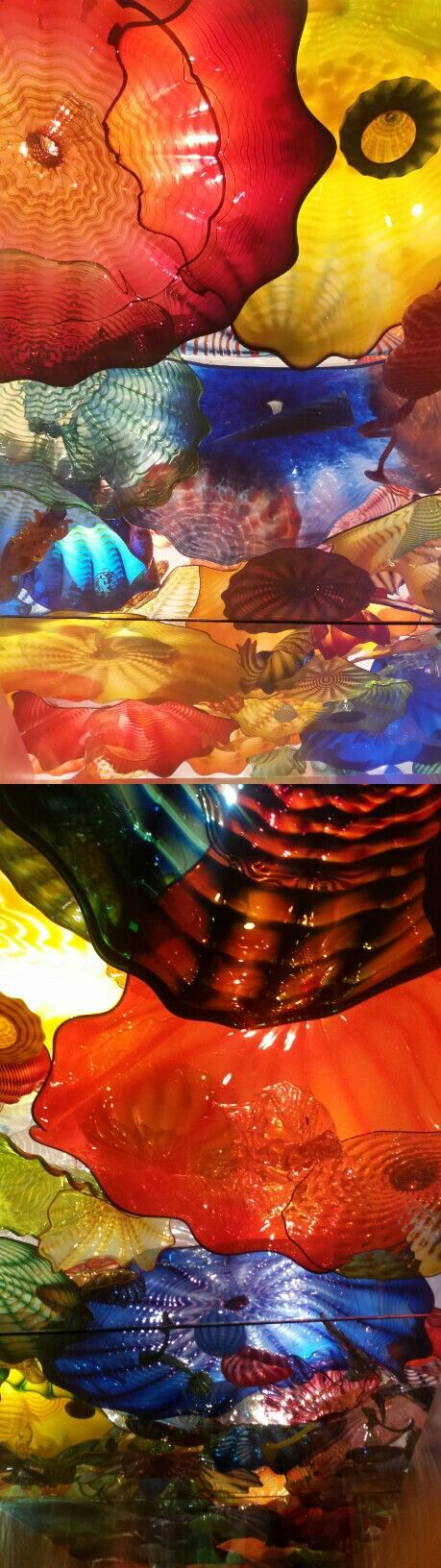 Cool Chihuly Art Glass Ceiling OKC Museum of Art