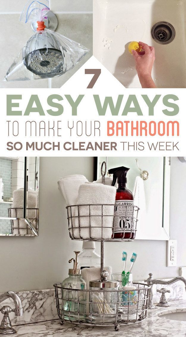 7 Bathroom Cleaning Tips You'll Actually Want To Try