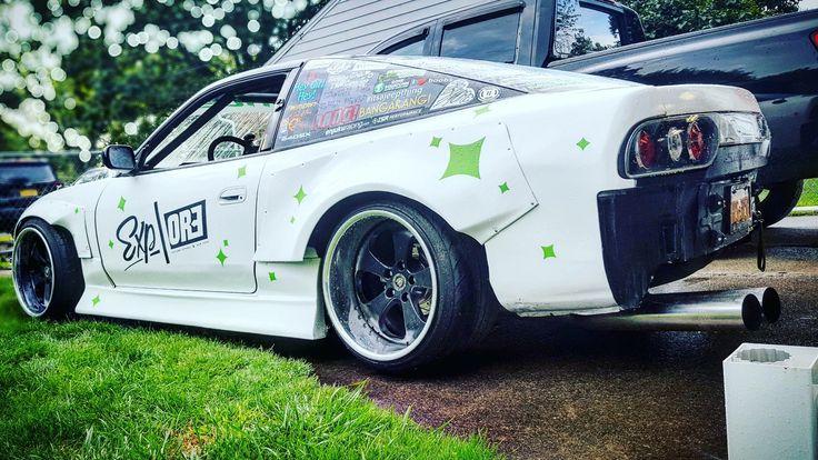 #Nissan #S13 #Silvia #180sx #240sx #Modified #WideBodyFlares