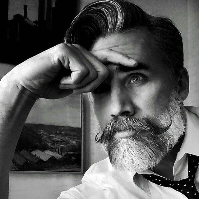 Elegant beard