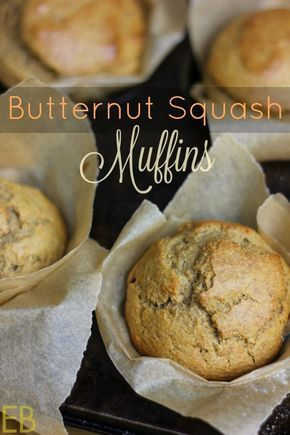 Butternut Squash Muffins {Paleo, cassava flour!} - Eat Beautiful