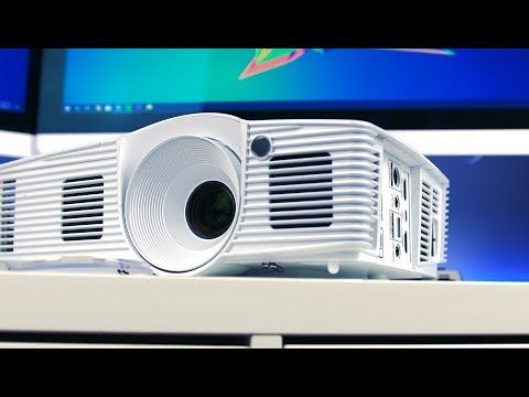 Optoma HD28DSE 1080p Home Theater Projector Review (4K) - YouTube