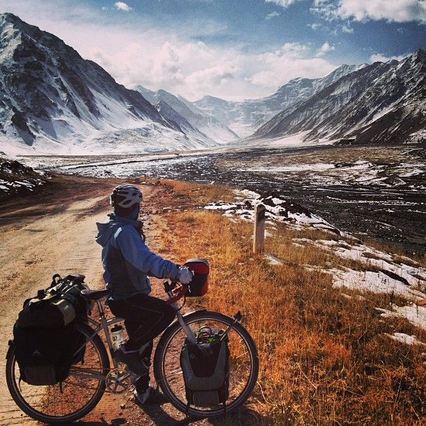 Inspirational Bicycle Travelers You Should Be Following – nowhere too far & others #cyletouring #cycling #travel #whyIride – ActionTripGuru.comEdward Zevelev