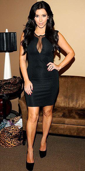 Kim Kardashian. Love this dress!!!