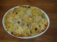 Zapečené kuře s bramborem a květákem