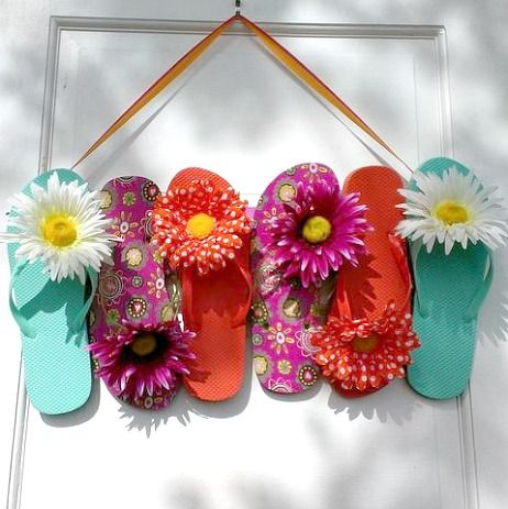 9 Fun Flip Flop Decorations and Crafts for your Home  http www689 best Beach Crafts   DIY Ideas images on Pinterest   Beach  . Fun Crafts For Your Home. Home Design Ideas