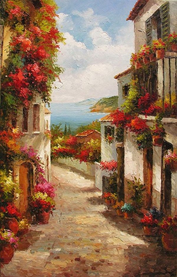 Beautiful and Soft Impressionism Paintings (16)