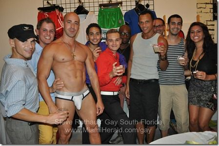 Gallery | Creative Male underwear/swimsuit store celebrates second anniversary near Midtown